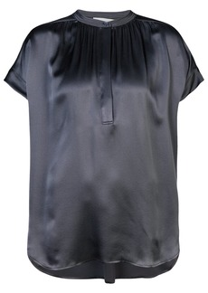Vince pleated front blouse - Grey