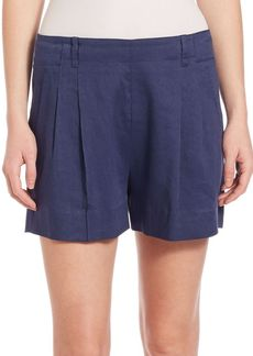 Vince Pleated-Front Shorts