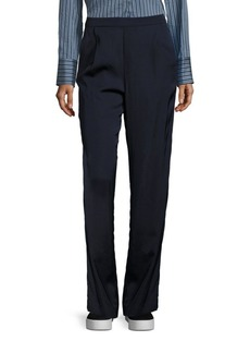 Vince Pleated High-Waist Pants