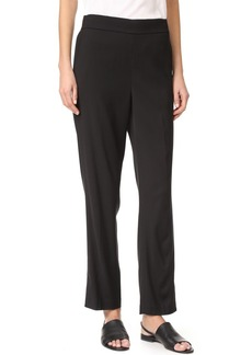 Vince Pleated Pull On Track Trousers