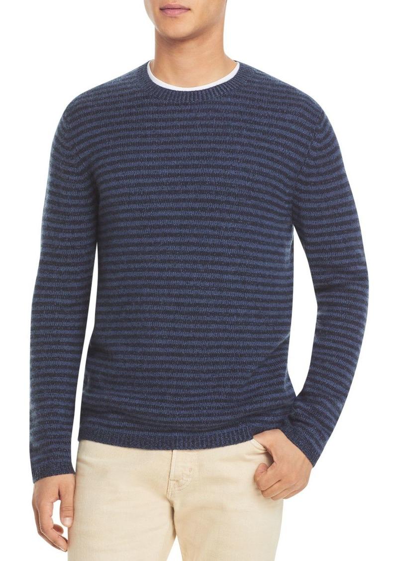 Vince Plush Striped Cashmere Sweater