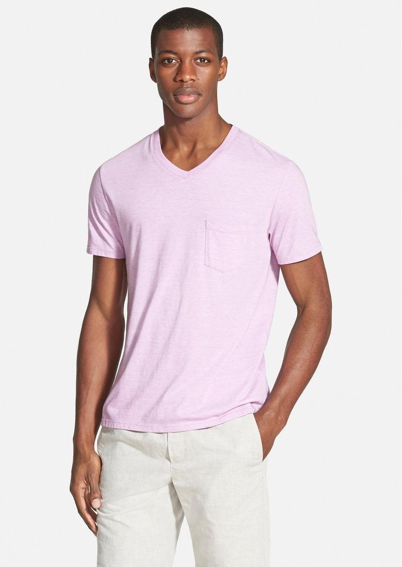 Vince Pocket V-Neck T-Shirt