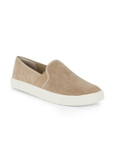 Vince Preston Slip-On Suede Sneakers