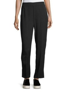 Vince Pull-On Crepe Lounge Pants