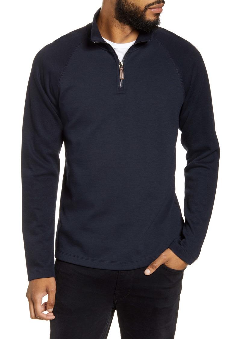 Vince Quarter Zip Pullover