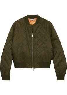 Vince Quilted shell bomber jacket