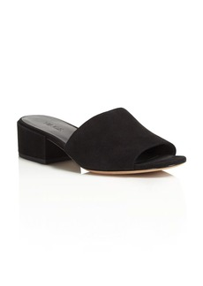 Vince Rachelle Low Heel Slide Sandals