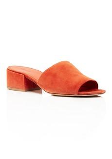 Vince Rachelle Low Heel Slide Sandals