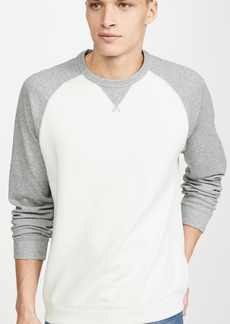 Vince Raglan Long Sleeve Crewneck Sweatshirt