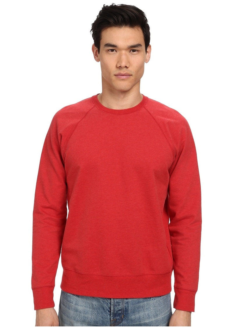 Vince Raglan Seamed Back Crew Sweater