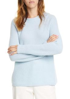 Vince Raglan Sleeve Wool & Cashmere Hoodie