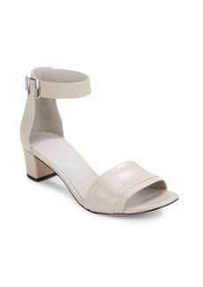 Vince Raine Leather Mid-Heel Sandals