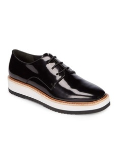 Vince Reed Patent Leather Platform Shoes