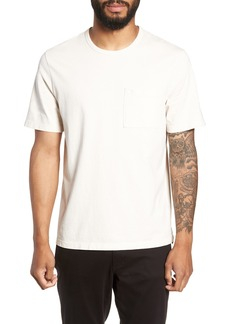 Vince Regular Fit Garment Dye Pocket T-Shirt