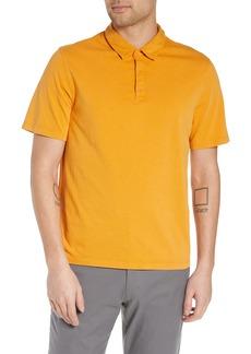 Vince Slim Fit Garment Dye Short Sleeve Polo