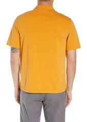 Vince Slim Fit Garment Dye Short Sleeve Polo