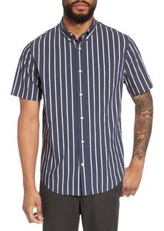 Vince Regular Fit Stretch Short Sleeve Sport Shirt