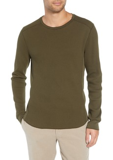 Vince Regular Fit Waffle Knit T-Shirt