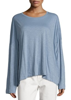 Vince Relaxed Crew Pima Cotton Tee