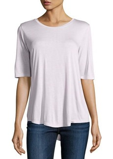 Vince Relaxed Half-Sleeve Top
