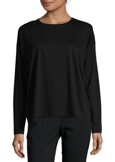 Vince Relaxed Long-Sleeve Crew