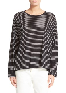 Vince Relaxed Stripe Top