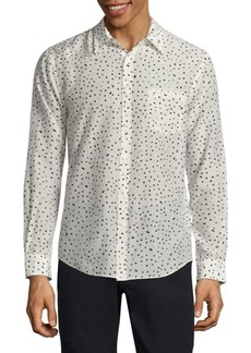 Vince Reverse Placket Button-Down Shirt