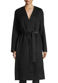 Vince Reversible Belted Wool-Cashmere Coat