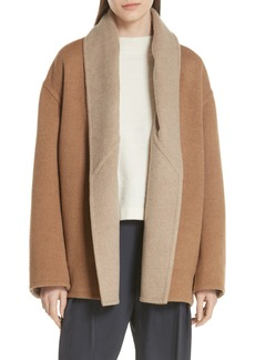 Vince Reversible Shawl Collar Coat