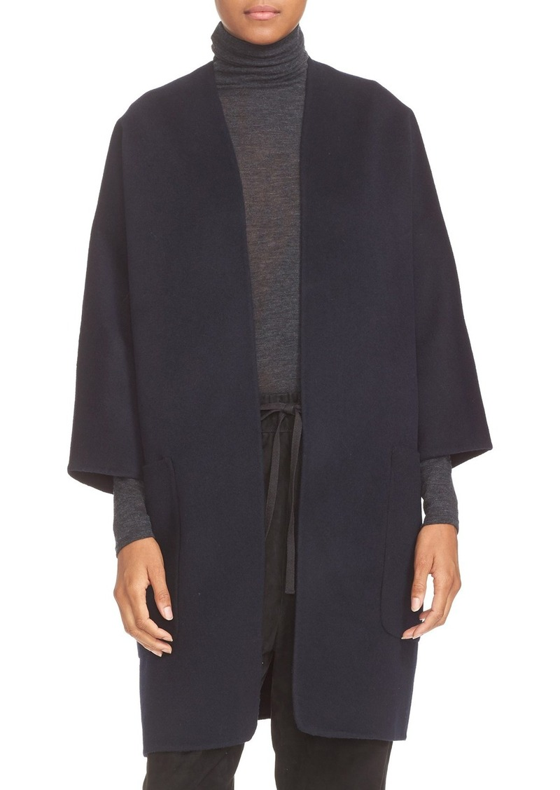 Vince Vince Reversible Wool & Cashmere Long Cardigan Coat ...