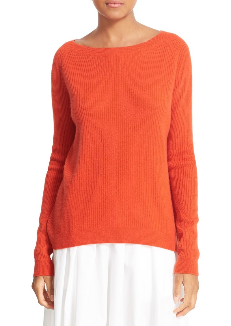 Vince Vince Rib Knit Raglan Sleeve Cashmere Sweater | Sweaters ...