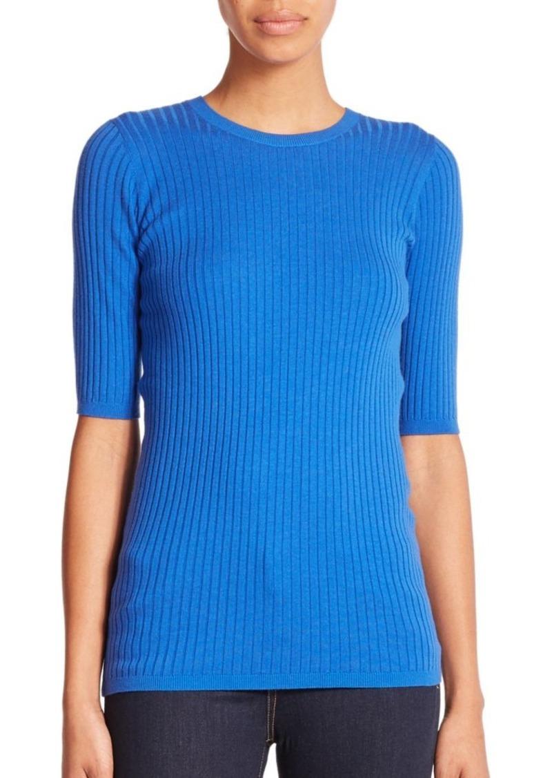 Vince Rib-Knit Skinny Sweater