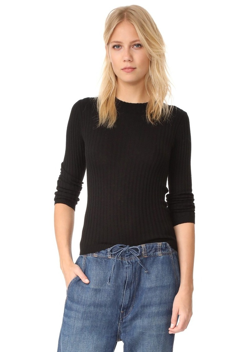 Vince Vince Rib Long Sleeve Cashmere Pullover Sweater | Sweaters ...