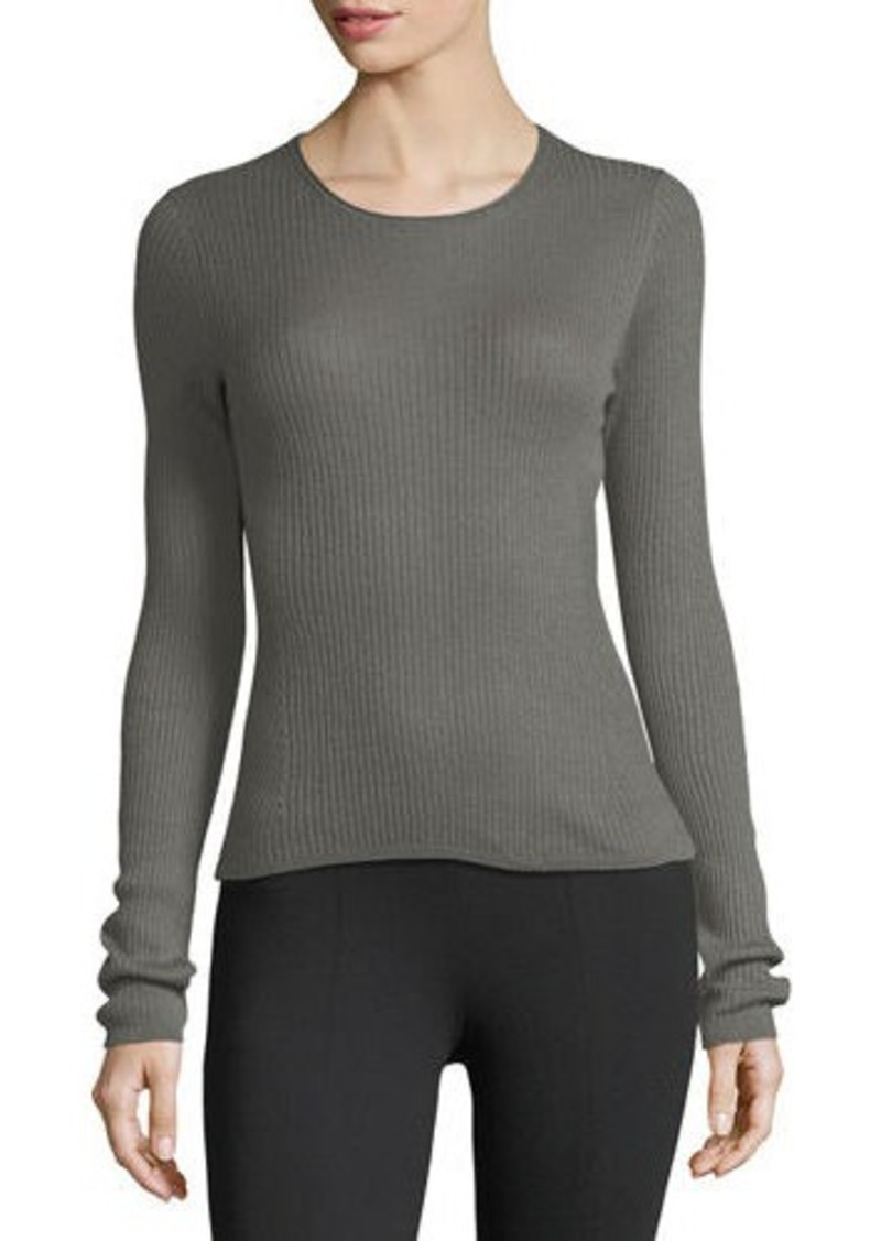 Vince Vince Ribbed Cashmere Crewneck Sweater | Sweaters - Shop It ...