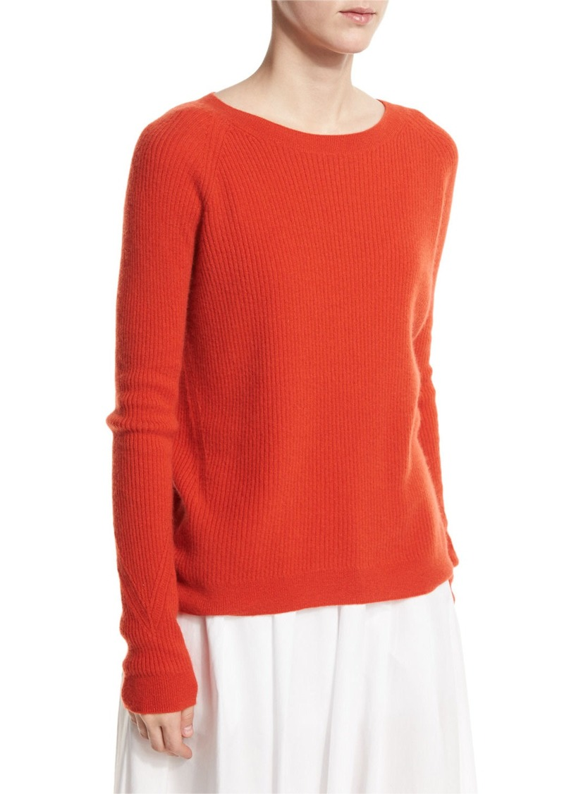 Vince Vince Ribbed Raglan Cashmere Sweater | Sweaters - Shop It To Me