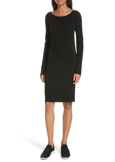 Vince Ribbed Sweater Dress