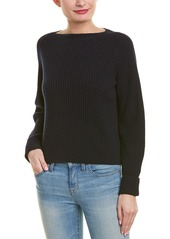 Vince Ribbed Wool & Cashmere-Blend Sweater