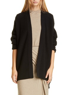 Vince Ribbed Wool & Cashmere Cardigan