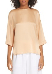Vince Satin Silk Top
