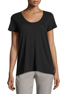 Vince Scoop-Neck Relaxed Tee