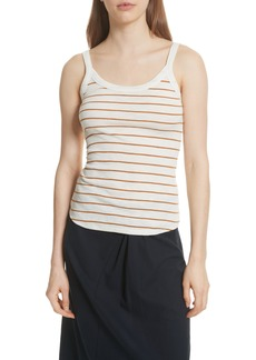 Vince Scoop Neck Stripe Camisole