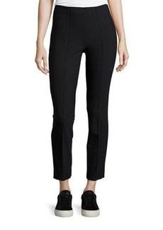 Vince Seamed Cotton-Stretch Trousers