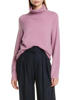 Vince Seamless Cashmere Turtleneck Sweater