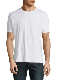 Vince Seamless Double-Layer Cotton Tee