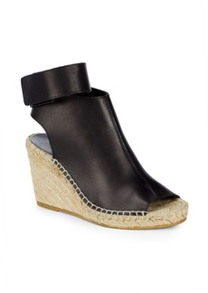 Vince Seymour Open Toe Wedge Heels