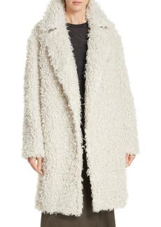 Vince Shaggy Faux Fur Coat