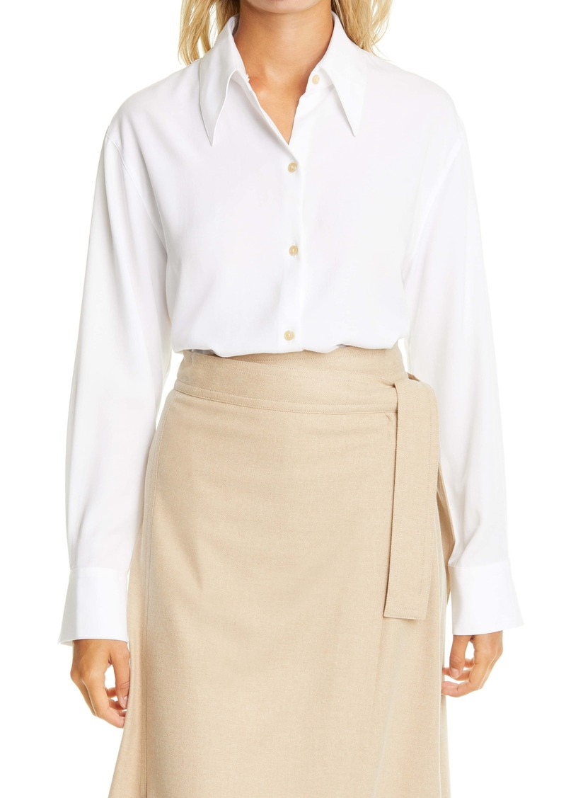 Vince Shaped Collar Shirt