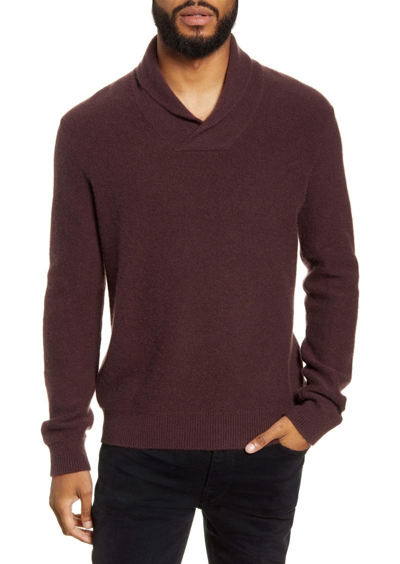 Vince Shawl Collar Cashmere Sweater