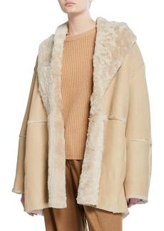 Vince Shearling Cardi Coat
