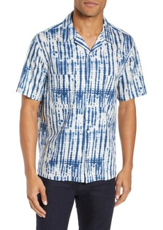 Vince Shibori Print Regular Fit Sport Shirt